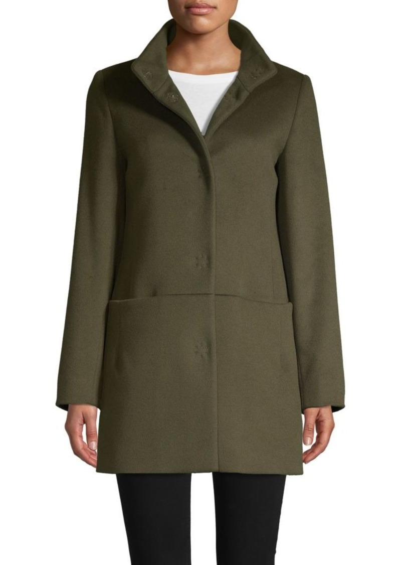 Cinzia Rocca Wool Blend Short Coat