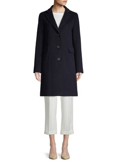 Cinzia Rocca Wool-Blend Topper Coat
