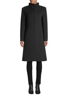 Cinzia Rocca Wool-Blend Walking Coat
