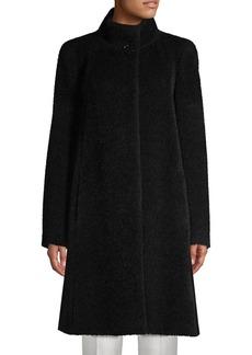Cinzia Rocca Wool Wrap Coat