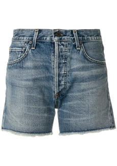 Citizens of Humanity Alyx ripped denim shorts