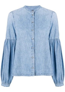 Citizens of Humanity billow-sleeve denim shirt