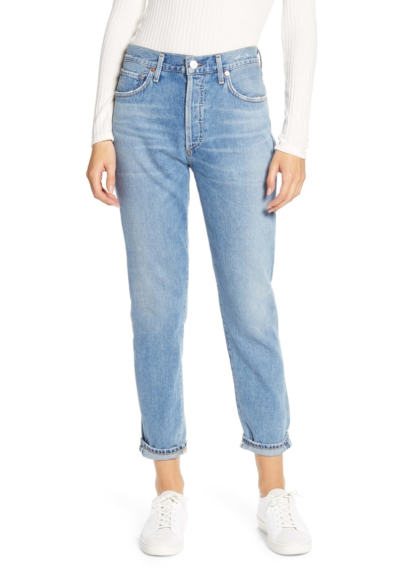 Citizens of Humanity Citizen of Humanity Liya High Waist Slim Leg Jeans (Wild Side)