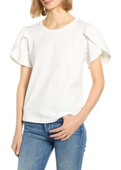 Citizens of Humanity Adele Tulip Sleeve Cotton Top