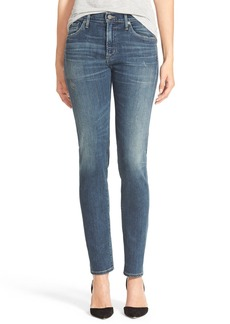 Citizens of Humanity 'Agnes' High Rise Slim Straight Leg Jeans (Temecula)