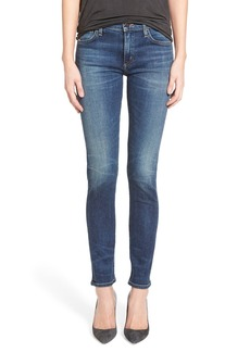 Citizens of Humanity 'Agnes' Slim Straight Leg Jeans (Euclid)
