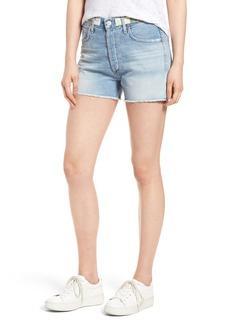 Citizens of Humanity Alyx High Waist Cutoff Denim Shorts