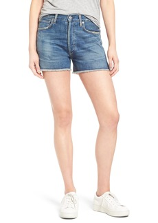 Citizens of Humanity Alyx High Waist Cutoff Denim Shorts