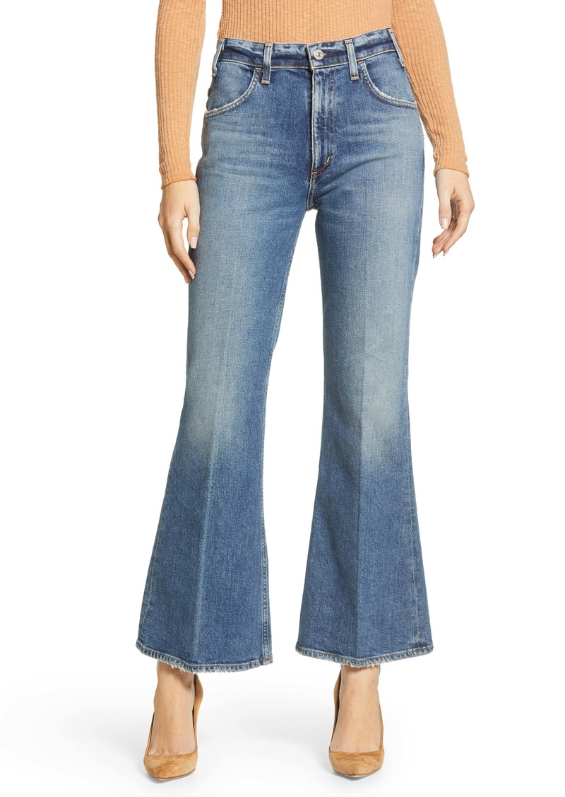 Citizens of Humanity Amelia Vintage High Waist Flare Leg Jeans (Long Gone)