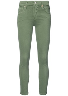 Citizens Of Humanity anke crop jeans - Green
