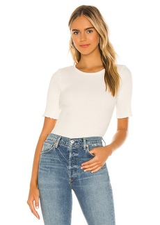 Citizens of Humanity Annie Short Sleeve Rip Top