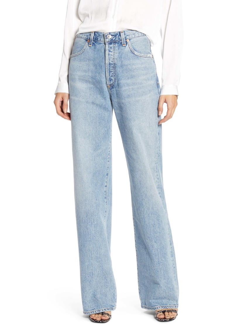 Citizens of Humanity Annina High Waist Trouser Jeans (Blue Mirage)