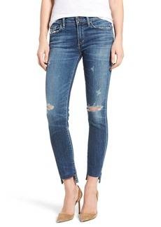 Citizens of Humanity Arielle Step Hem Skinny Jeans (Distressed)