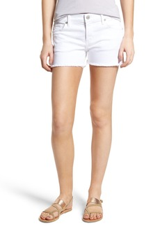 Citizens of Humanity Ava Cutoff Denim Shorts (Optic White)