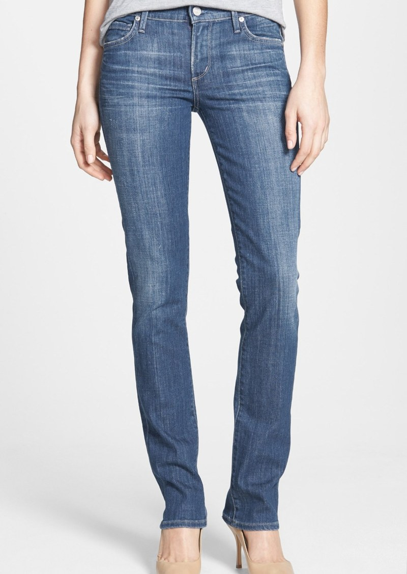 Citizens of Humanity 'Ava' Straight Leg Jeans (Corfu)