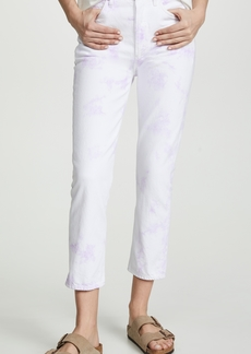 Citizens of Humanity Charlotte Crop Tie Dye Jeans