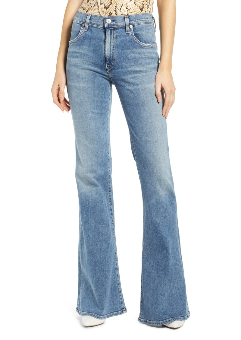 Citizens of Humanity Chloe High Waist Flare Jeans (Serenity)