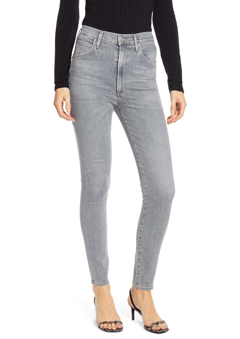 Citizens of Humanity Chrissy High Waist Skinny Jeans (Cosmic)