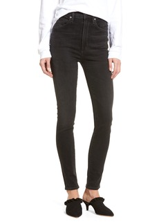 Citizens of Humanity Chrissy High Waist Skinny Jeans (Darkness)