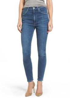 Citizens of Humanity Chrissy High Waist Skinny Jeans (Hotline)