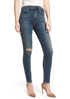 Citizens of Humanity Chrissy High Waist Skinny Jeans (Roulette)