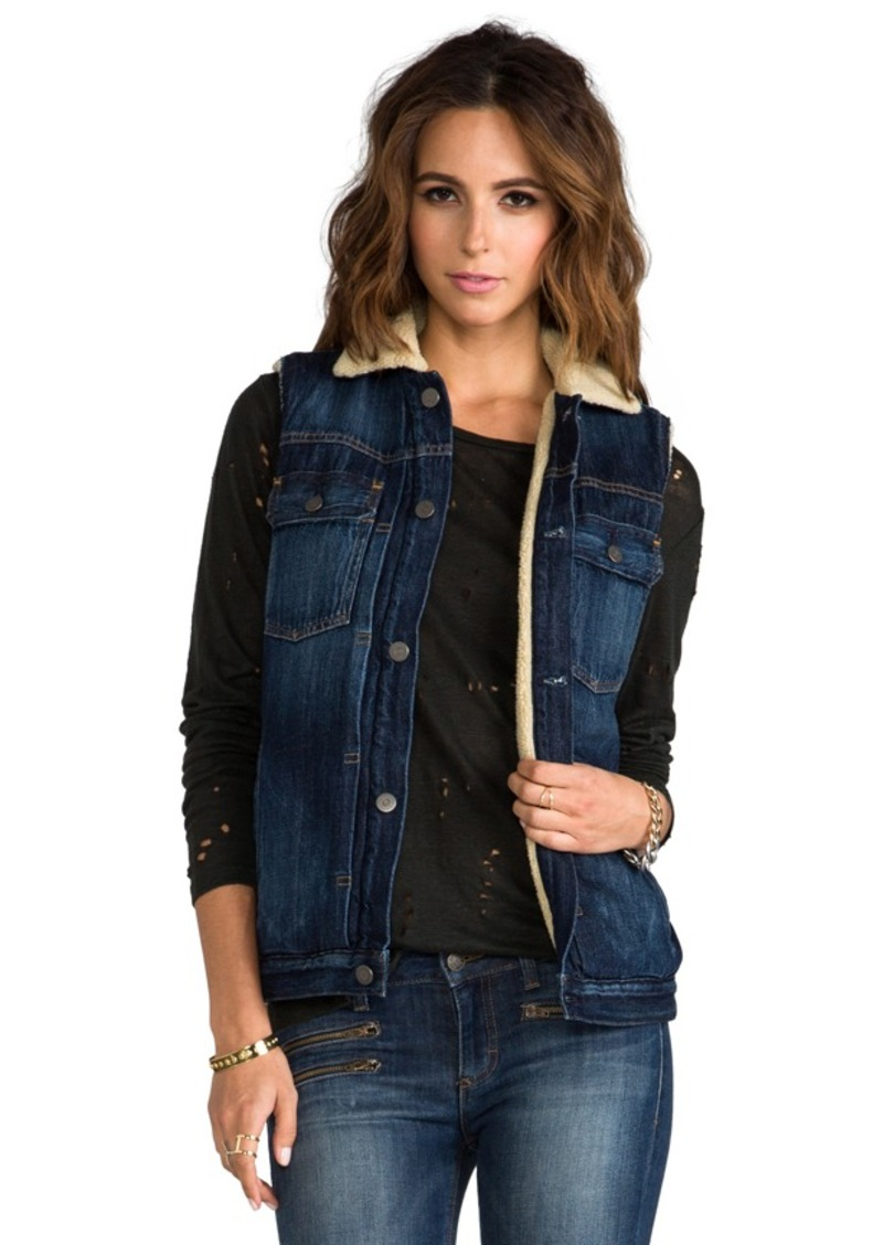 Citizens of Humanity Citizens Of Humanity Laustan Vest in Blue