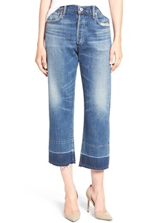 Citizens of Humanity Cora High Waist Released Hem Boyfriend Jeans (Fade Out)