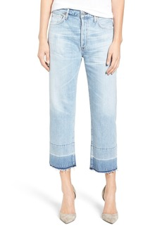Citizens of Humanity Cora High Waist Released Hem Boyfriend Jeans (Horizon)