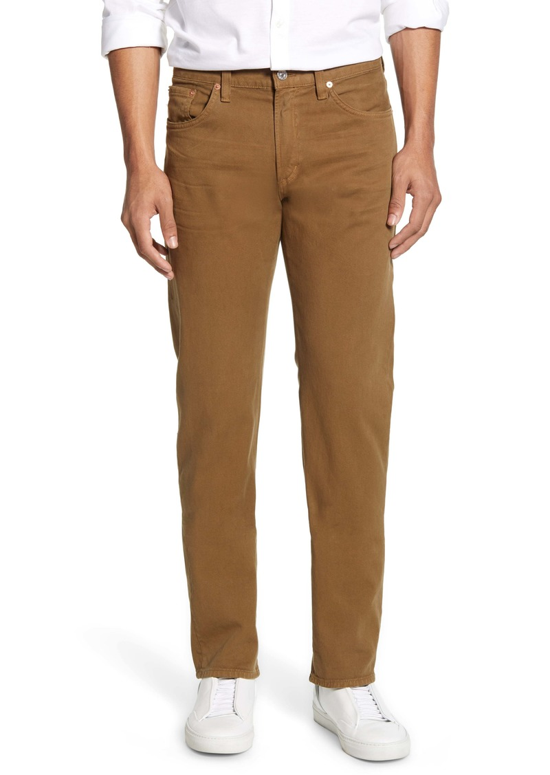 Citizens of Humanity Core Slim Straight Leg Jeans (Wheat)