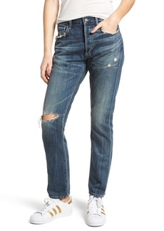Citizens of Humanity Corey Ripped Slouchy Slim Jeans (Fade Away)
