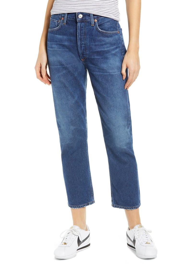 Citizens of Humanity Crop Straight Leg Jeans (Wish)