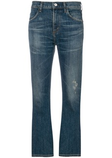 Citizens Of Humanity cropped bootcut jeans - Blue
