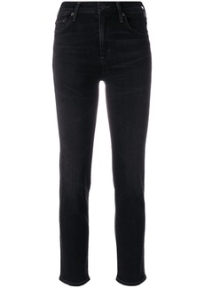 Citizens Of Humanity cropped denim jeans - Black