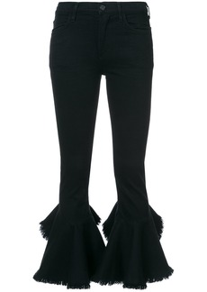 Citizens Of Humanity cropped flared jeans - Black