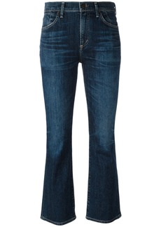 Citizens Of Humanity cropped flared jeans - Blue