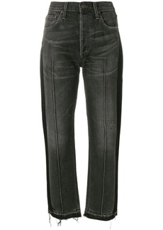 Citizens Of Humanity cropped raw hem jeans - Black