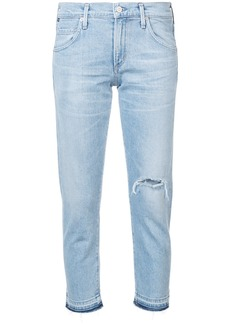 Citizens Of Humanity cropped slim fit jeans - Blue