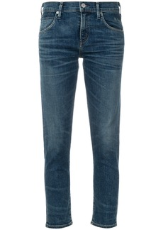 Citizens Of Humanity cropped slim-fit jeans - Blue
