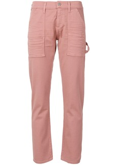 Citizens Of Humanity cropped slim-fit jeans - Pink & Purple