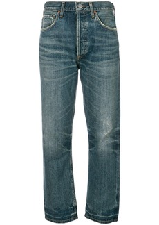 Citizens Of Humanity cropped straight jeans - Blue