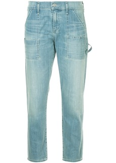 Citizens Of Humanity cropped straight-leg jeans - Blue