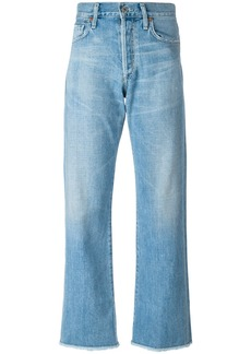 Citizens Of Humanity cropped trousers - Blue