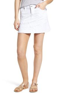 Citizens of Humanity Cutoff Denim Miniskirt