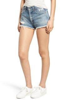 Citizens of Humanity Danielle High Waist Cutoff Shorts (Mandrake)