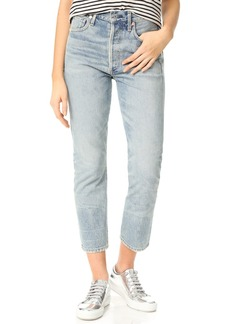 Citizens of Humanity Dree High Rise Slim Straight Crop Jeans