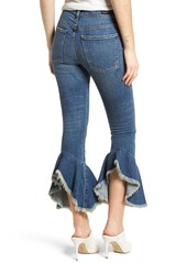 Citizens of Humanity Drew Flounce Hem Crop Jeans (Chachacha)