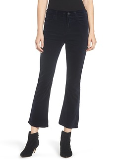 Citizens of Humanity Drew High Waist Crop Flare Jeans (Midnight)