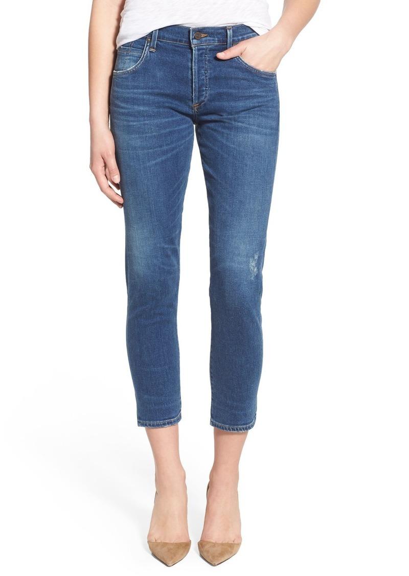 Citizens of Humanity 'Elsa' Crop Slim Jeans (Taos)