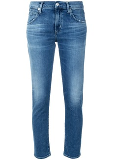Citizens Of Humanity Elsa cropped skinny jeans - Blue