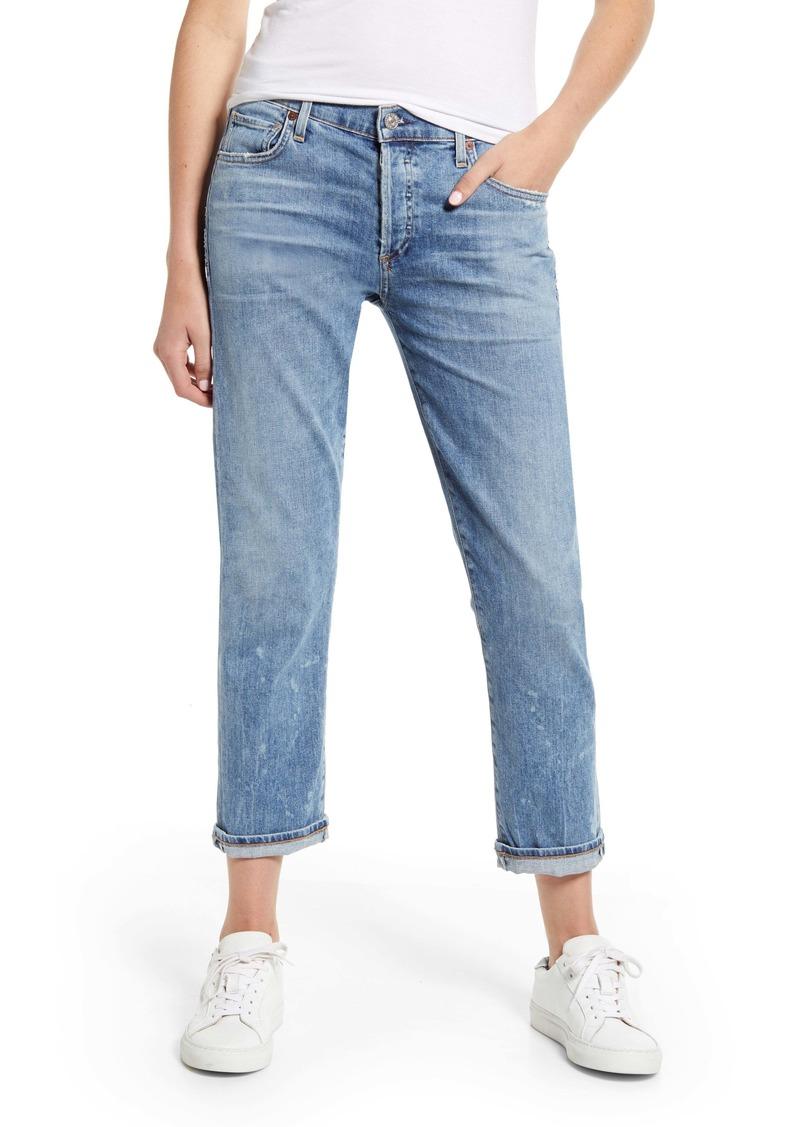 Citizens of Humanity Emerson Crop Boyfriend Jeans (Rainfall)